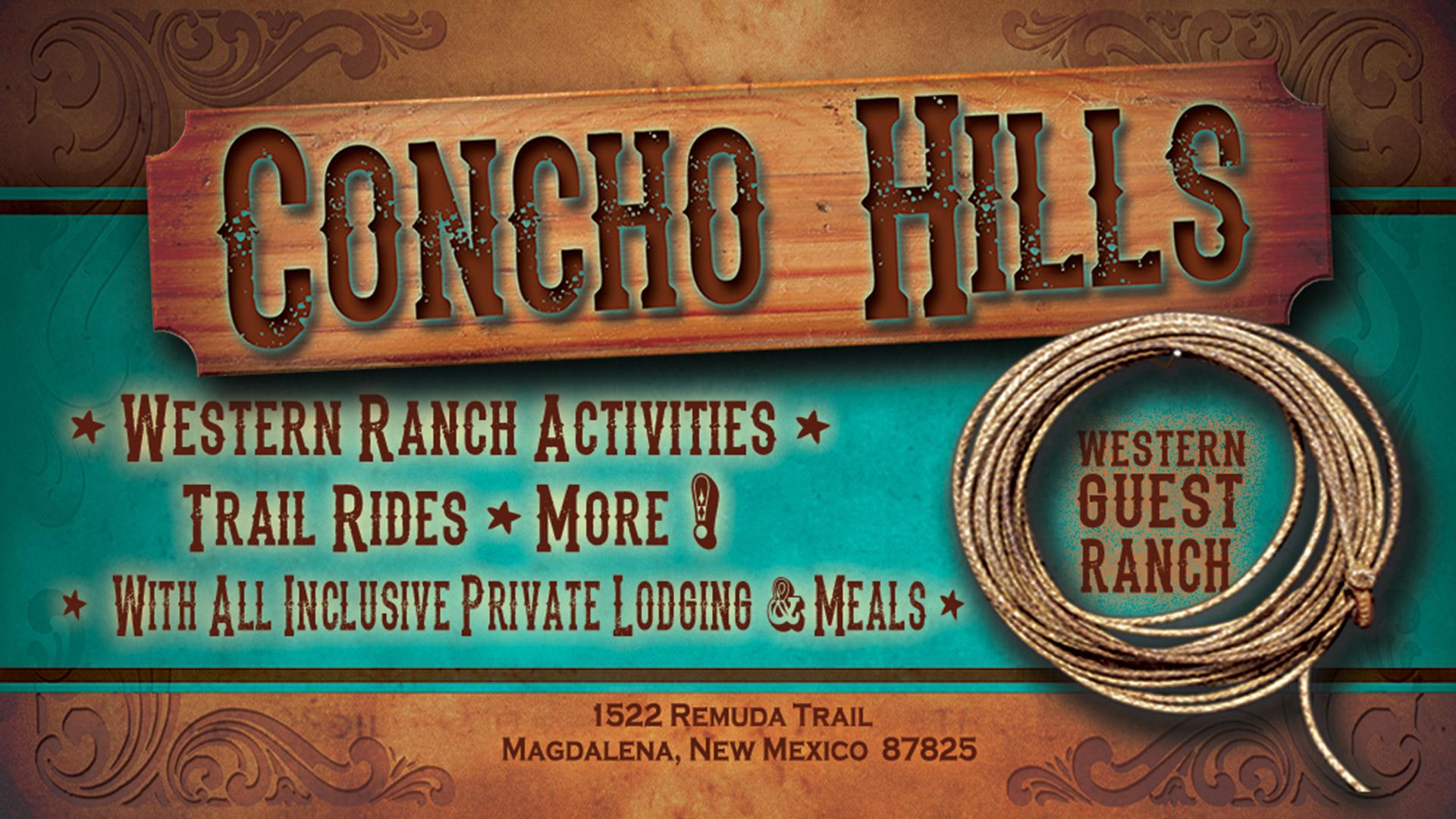 Concho Hills Guest Ranch Logo