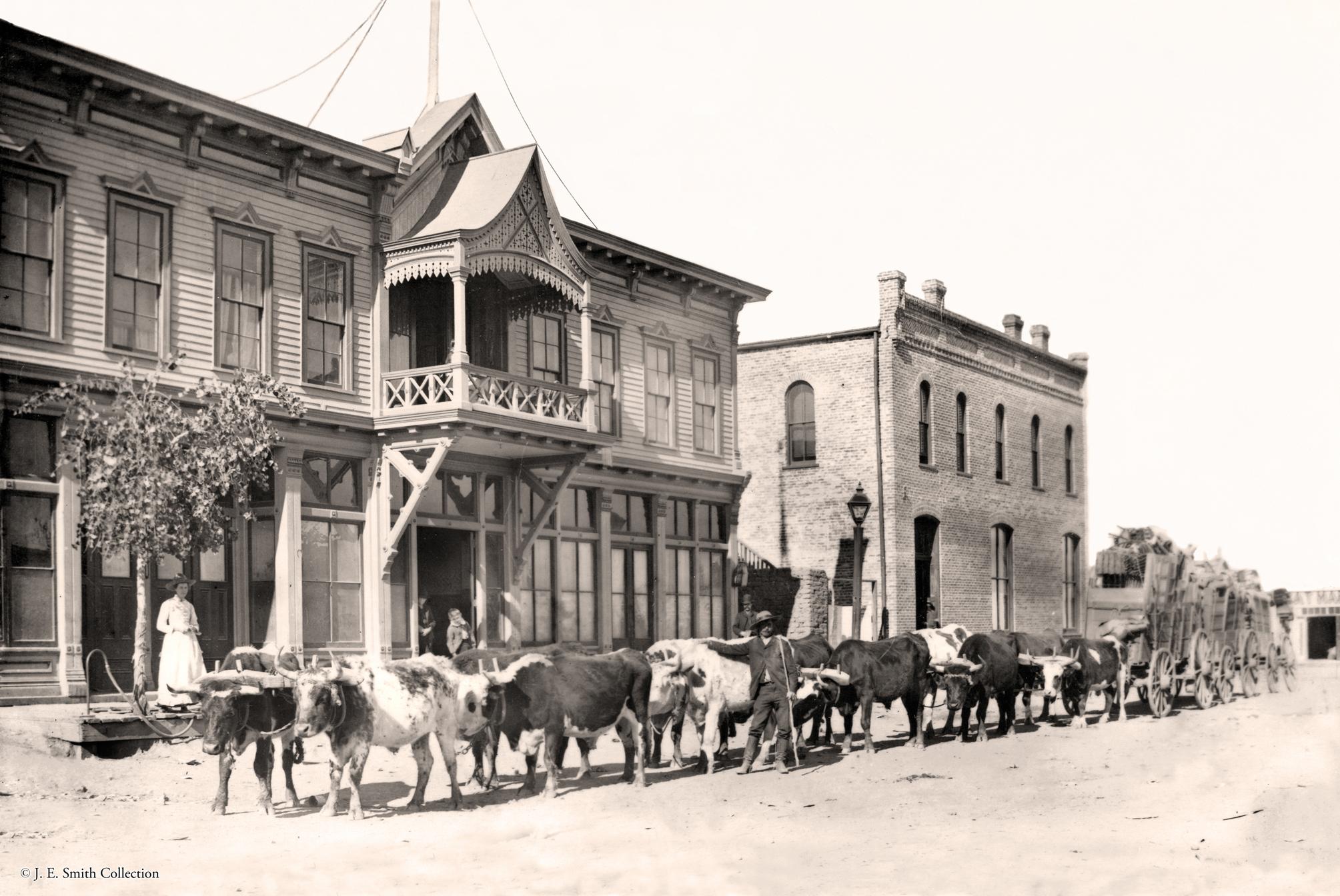 Grand Central Hotel Circa 1886